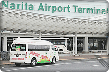 Transfer from Narita Airport to hotels in central Tokyo